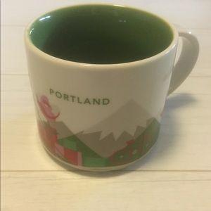 Starbucks Portland You Are Here Mug shiny new